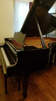 $3950.. Tokai Ebony Gloss Grand Piano 5'11