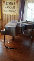 (SOLD)Plexiglass Baby Grand Piano Custom