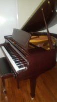 (SOLD) George Steck Baby Grand Player Piano 5'3