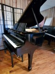 Steinway Grand Piano Ebony Model M 1954 Rebuilt/Refinished $14,950.