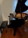 SAMICK PLAYER PIANO QRS CD PIANOMATION BABY GRAND Ebony Gloss  5' 2000 $5900. (BLOWOUT SALE)