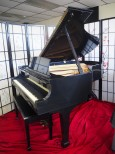 Steinway Ebony Grand Piano Model M 1966 All Excellent Original Steinway Parts $17,950