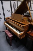 (SOLD) Sohmer Baby Grand Walnut 1970 Refurbished Excellent