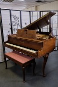 Art Case Knabe Mahogany Baby Grand 5'2