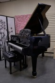 Schumann High Gloss Ebony Baby Grand Piano 5'2