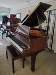 Young Chang Gloss Mahogany 2003 5' Baby Grand w/QRS CD Player System $7500.