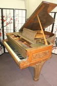 Rare Art Case Steinway Grand Piano (VIDEO) Model A King Louis XVI Custom Made For Sale $59,000.