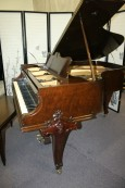 Art Case Knabe Baby Grand Piano  Unique Hand Carved Legs Decorative Case $5500.