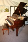 Steinway Grand Piano Model M Excellent Original Steinway Parts New strings/Pins/refinished $19,500.