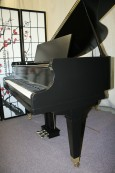 Mason & Hamlin Baby Grand Ebony-Mason & Hamlin Rare Model T 5'4' 1929 Made in Boston Expertly Rebuilt & Refinished June 2013  $12,500.