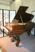 (SOLD) Steinway Victorian Art Case Steinway Model B Rosewood Cabriolet Legs Rebuilt & Refinished