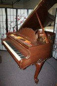 King Louis XV Style Steinway Model M Art Case 1929 (VIDEO) Rebuilt & Refinished Gorgeous Walnut $28,500.