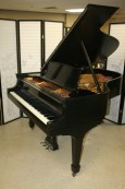 Steinway Grand Piano Model L 5'10' Ebony 1927 Reblt/Refin. $15,500.