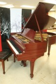 Steinway Model M 1924 Red Mahogany New Renner Blue Hammers & Shanks! Refurbished/Refinished 2013 $12,500.