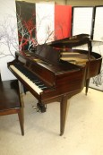 Art Deco Knabe Symmetrigrand Mahogany Refurbished $2950