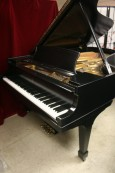 Steinway B Grand Piano New Ebony Satin Finish 1978 Excellent Like New Original Steinway Parts  $26,500.