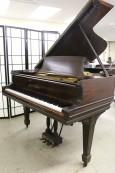Steinway B 6'10.5 1893 Mahogany (VIDEO) Rebuilt 1997 88 keys $17,500