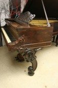 Art Case Victorian 1863 C Rosewood 85 Notes 2 Pedals $13k