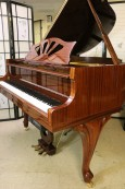 Art Case Baby Grand Player Piano  2008 by Story & Clark QRS Pianomation System $7900.