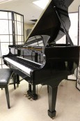 Ebony Gloss Schumann Baby Grand Piano Made by Samick Excellent In/Out $4500.