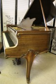 Weber Art Case Baby Grand $3950 (VIDEO) Rebuilt/Refinished.