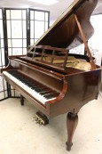 Art Case Steinway Model S $13,500 (VIDEO) Baby Grand Rare Sheraton Style, Mahogany Refin./Refurbished