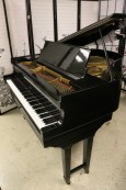 Hardman Baby Grand Piano 5' Ebony Gloss Reblt/Refin $3500.