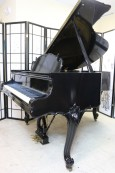 (SOLD-Congratulations Mike & Family) Art Case Steinway M King Louis XV 1940 (VIDEO)  Steinway M Piano Rare Ebony Gloss all excellent condition original Steinway parts.