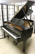 Steinway M  Ebony Semi-gloss $13,500 1925 (VIDEO) Grand Piano