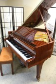 Story & Clark Baby Grand Player Piano Ribbon Mahogany w/QRS Player System $7,000