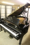 Sonny's Pianos Ebony Gloss Grand Piano  $5900. Schumann By Samick 6'10