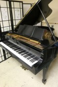 Steinway M  Ebony Semi-gloss $13,500 1929 (VIDEO) Grand Piano