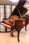 (SOLD) Art Case Steinway M Queen Anne Style Mahogany All Original Steinway 1927 (SOLD)