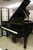SOLD!! Steinway B Grand Piano (VIDEO) Recent Partial Rebuild & Refinish Satin Ebony 1939