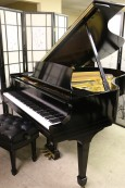 Steinway M  Ebony Semi-gloss $13,500 1945 (VIDEO) Grand Piano