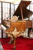 Hand Painted Art Case Baby Grand Melville Clark Rare Collectors Item $9500.