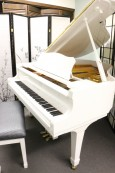 White Gloss Young Chang 5' 2' Baby Grand Piano 1989 $4500.