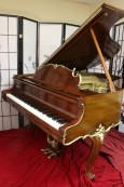 SOLD Art Case Steinway M King Louis Style Grand Piano Refinished/Action Upgraded 1968