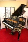 Luxurious Art Case Steinway Model M Rare, Ornate Totall Rebuilt & Restored