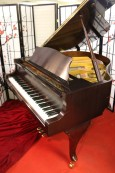 Art Case Bergmann Burgundy Baby Grand $4,500