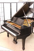 Steinway O 5'10.5 Satin Ebony (VIDEO) Rebuilt & Refinished $17,500