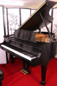 (SOLD) Steinway M  Grand Piano 1997 Satin Ebony Showroom Condition (VIDEO)