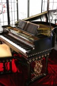 Art Case Marshall & Wendell Spanish Style Baby Grand Piano restored Spring 2016 $9500.