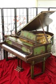Chinoiserie Art Case Weber Piano w/Hand Painted Nature Scenes Rebuilt & Restored May 2016 $19,,500