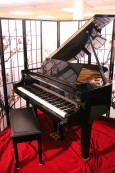 Ebony Gloss Baby Grand Hamilton by Baldwin 4'8