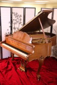Steinway M King Louis XV Art Case Piano  Walnut 1968 Pristine $23,500.