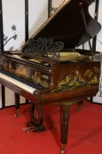 Chinoiserie Art Case Collard & Collard Hand Painted Masterpiece Restored