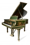 Art Case Steinway Grand Piano. Hand Painted Chinoserie Masterpiece. Luxury Art Case Steinway Model