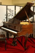 (SOLD) Crown  Jewel Art Case Steinway M 1998 King Louis XV,
