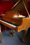 Steinway M Art Case King Louis XV 1961  Walnut, Excellent, Pristine $19,500.
